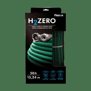H2ZERO - Flexon Fabric Lawn & Garden Hose