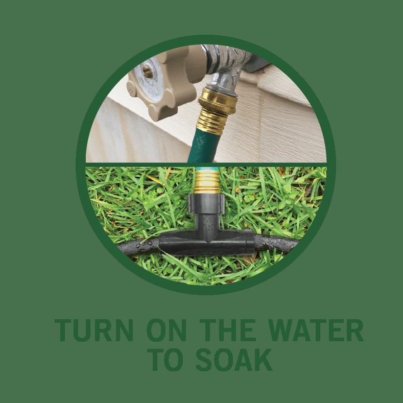 Soaker Hose Faucet Connection