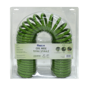Coiled Garden Water Hose