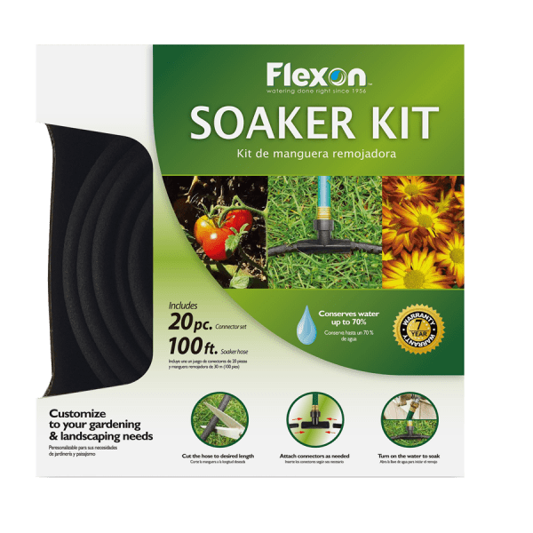 Garden Water Hose Soaker Kit